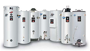 Monterey Bay Plumbing recommends Bradford White water heaters